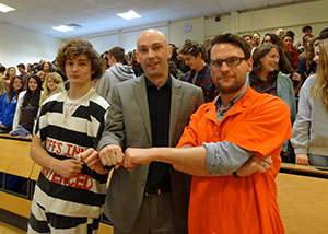 WEB-Second-year-Sociology-student-Morgan-Mitchell-_left_-and-Barton-Peveril-Media-lecturer_Chris-Horton_-with-Shaun-Attwood-_centre