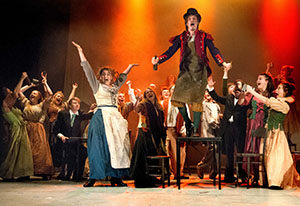 Barton Peveril College's production of Les Miserables.