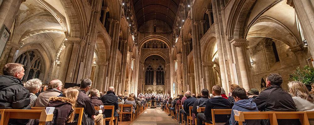 Barton Peveril's Choral Concert