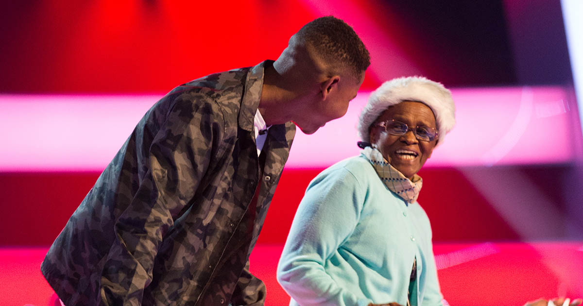 Donel and his Grandmother
