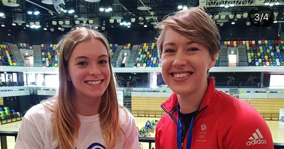 Emily Martin and Lizzie Yarnold