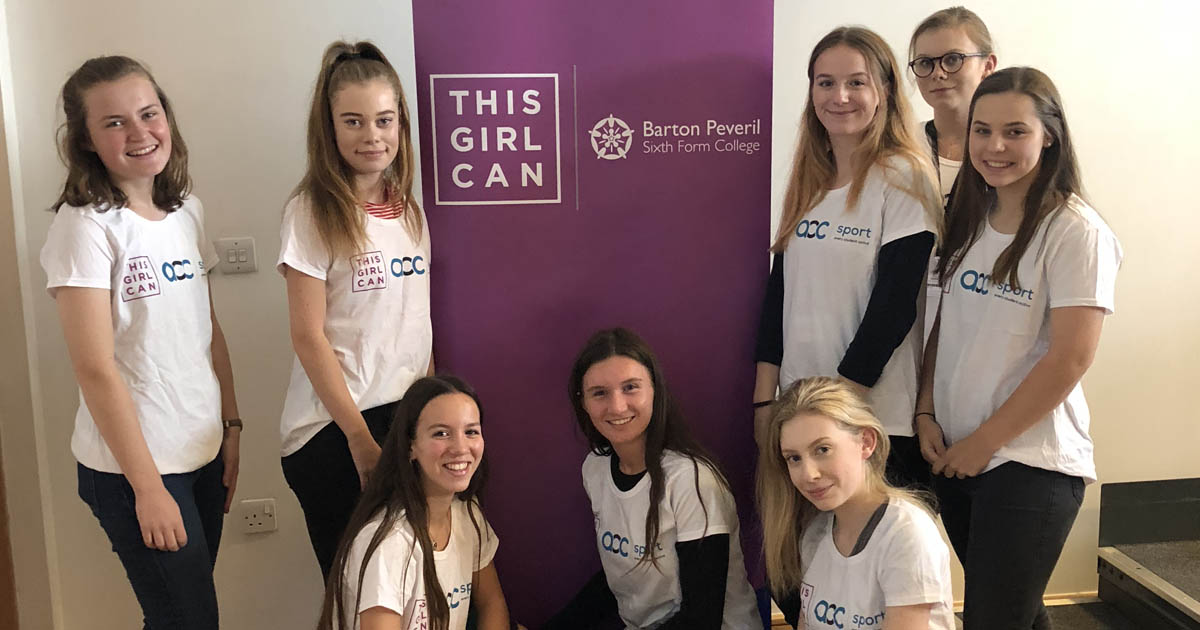 Barton Peveril's This Girl Can Ambassadors