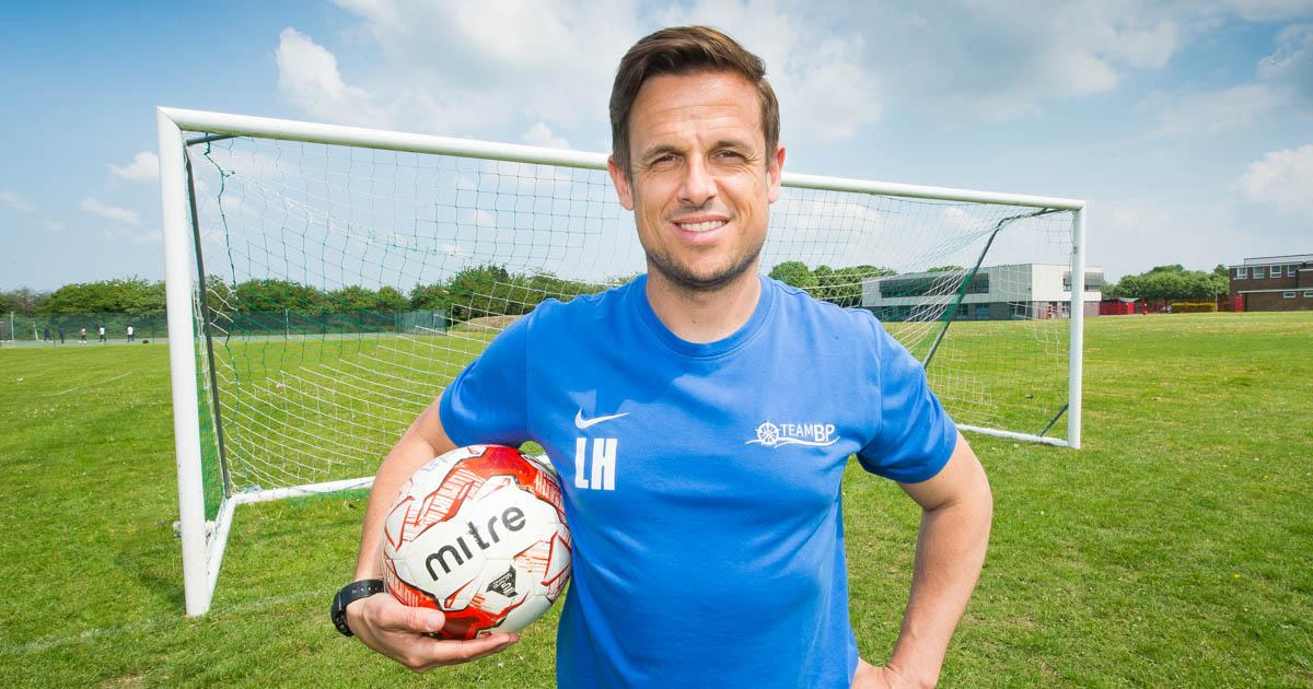 Barton Peveril Director of Sport and ESFA England Schools Under 18s Assistant Manager Luke Hampton