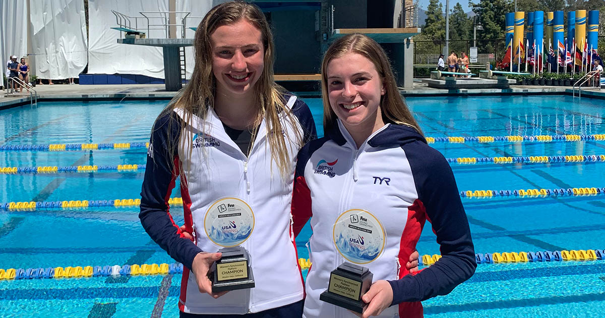 Phoebe Banks (left) and Barton Peveril's Emily Martin (right).