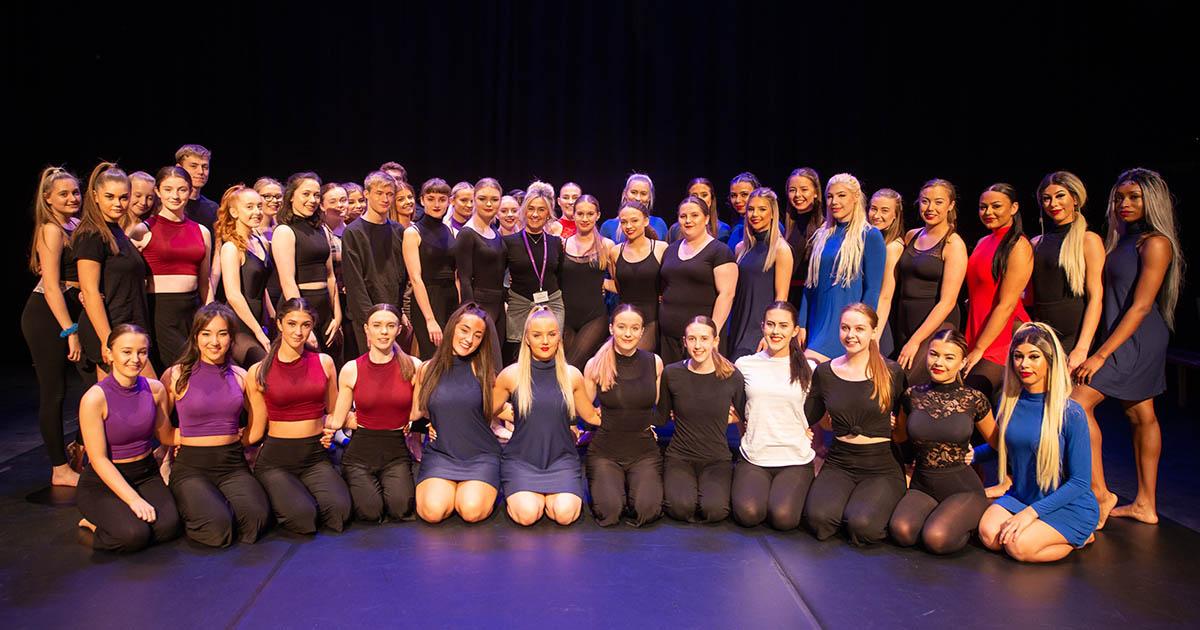 Barton Peveril Dance Show Students