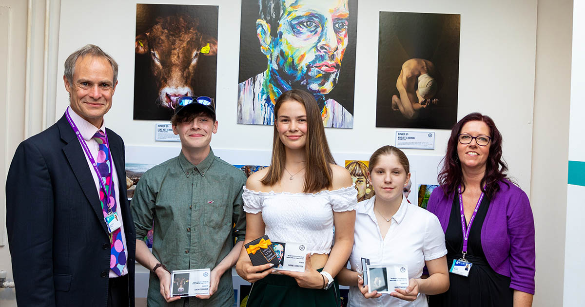 Barton Peveril's Art Competition Winners