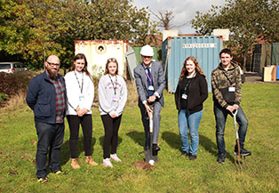 Allotment Project at Barton Peveril