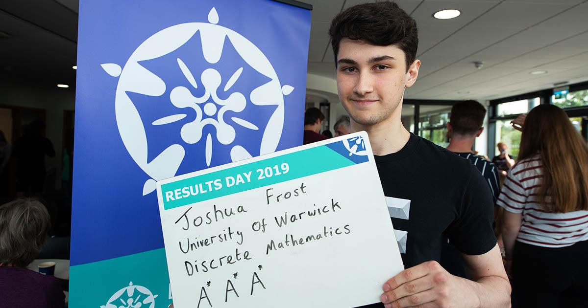 Former Barton Peveril Student Joshua Frost