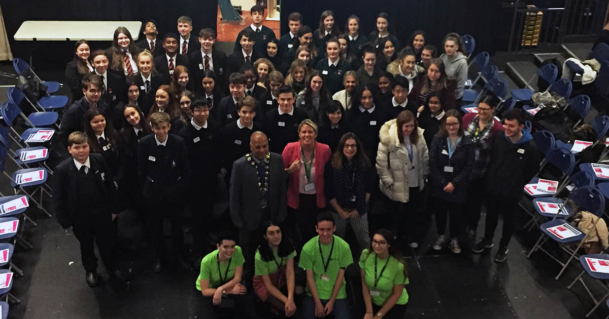Barton Peveril Host Eastleigh Youth Conference