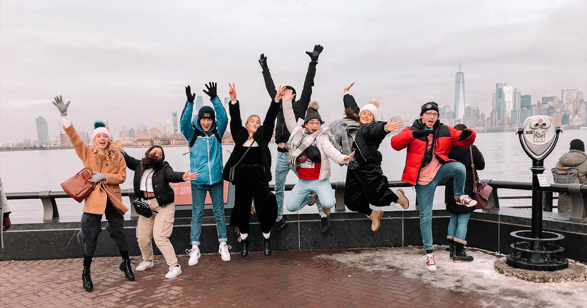 Barton Peveril Performing Arts Students in New York
