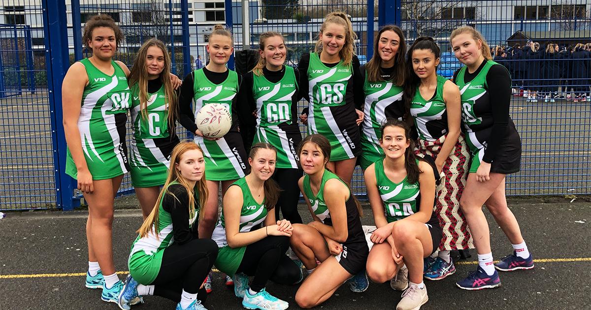 Barton Peveril Netball Team finish Third in Hampshire