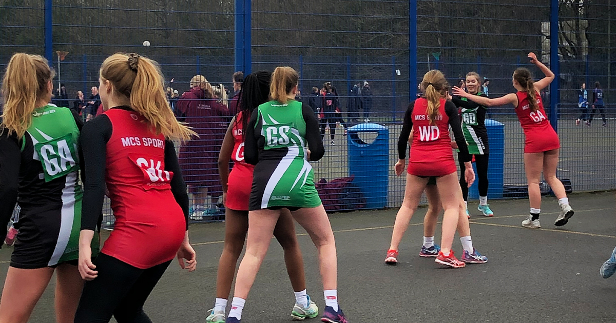 Barton Peveril Netball Team place Third in Hampshire