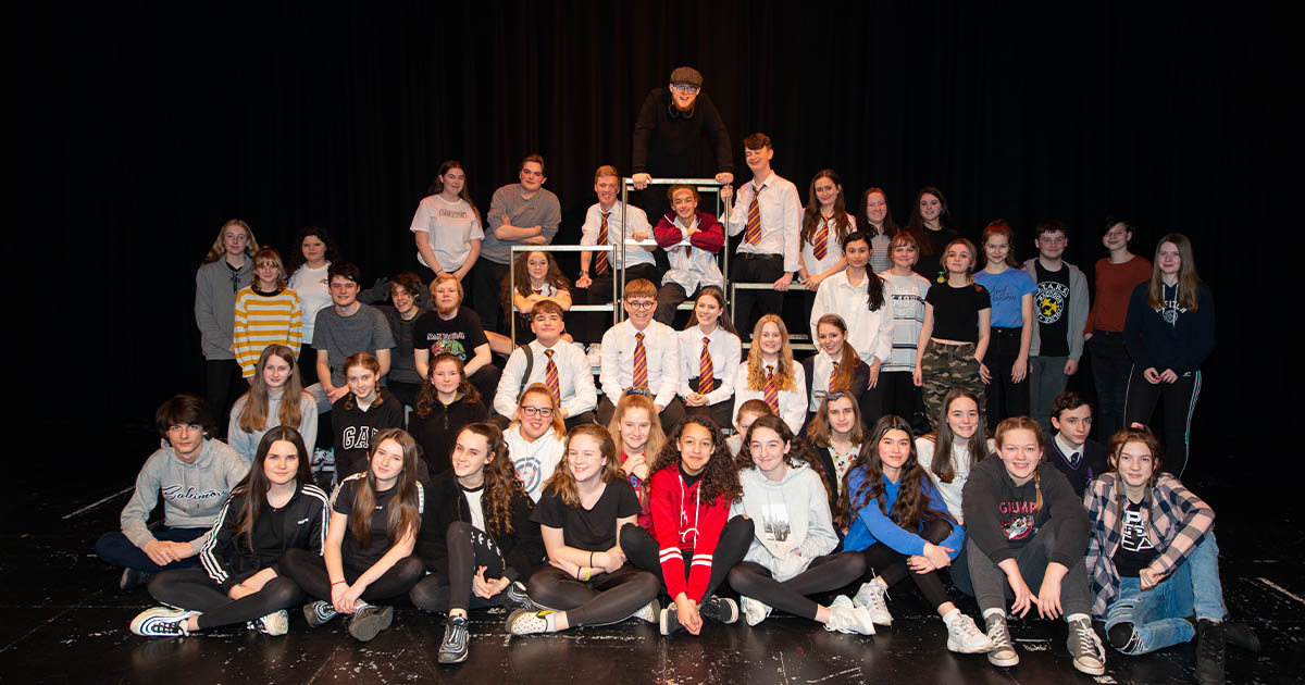 Barton Peveril's Performing Arts (Acting) Students