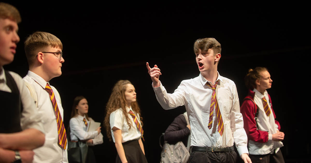 Barton Peveril's Performing Arts (Acting) Students to perform at Nuffield Theatre Southampton