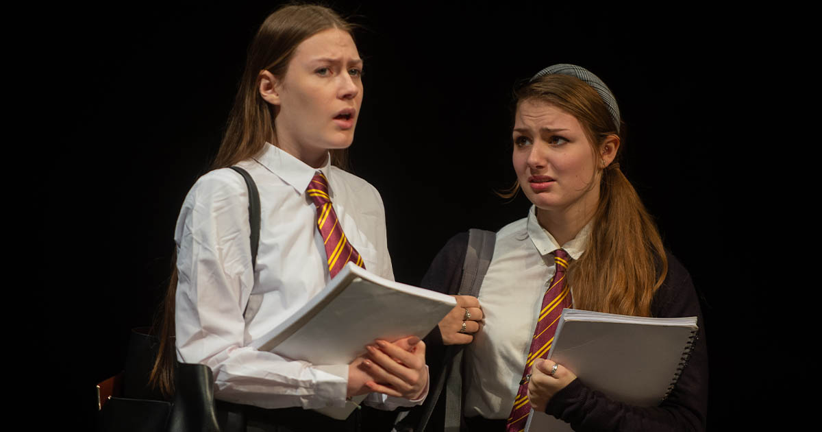 Barton Peveril's Performing Arts (Acting) Students in Connections